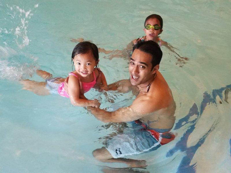 Teaching Our Niece to Swim