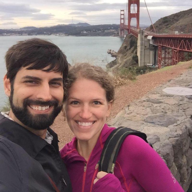 Riding Bikes Across the Golden Gate Bridge