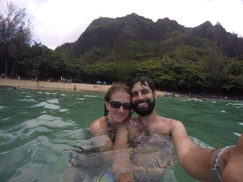 Swimming With Turtles in Hawaii