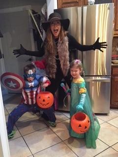Halloween With Our Niece & Nephew