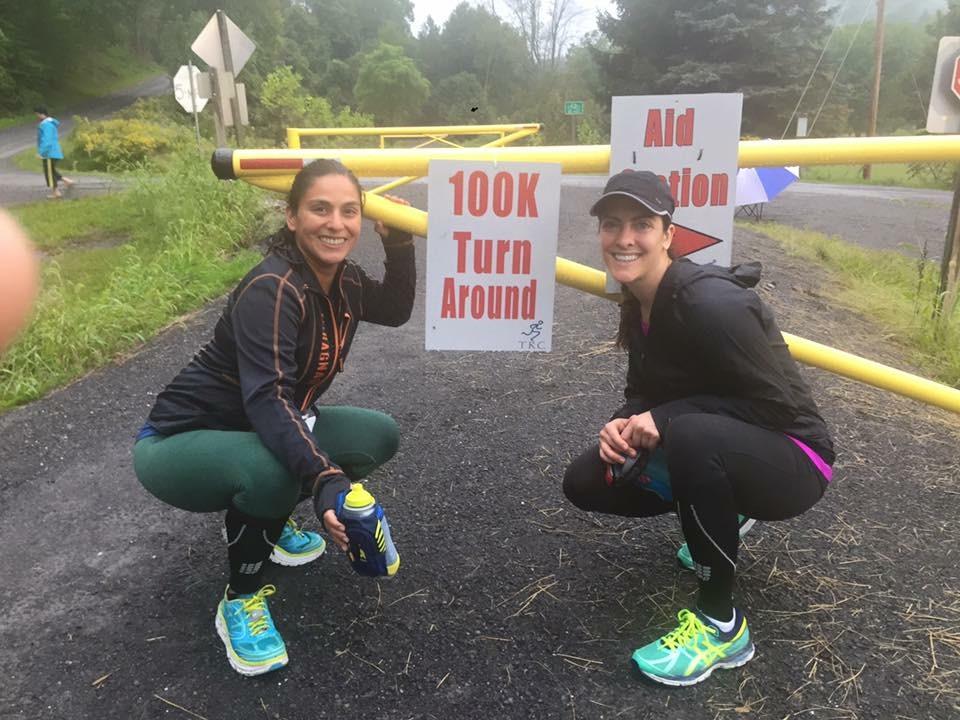 Halfway on a 100k Run