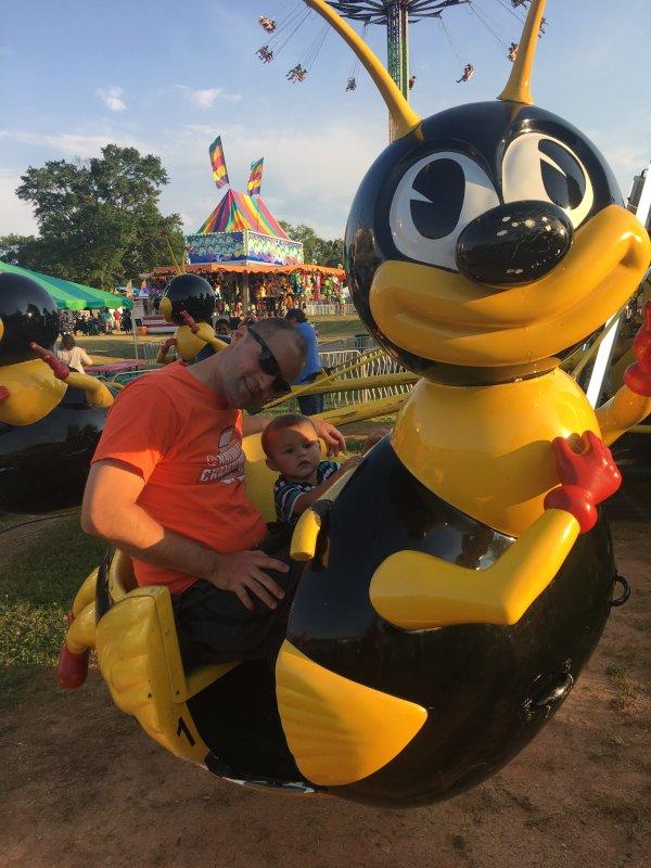 Riding Rides at the Annual Fair