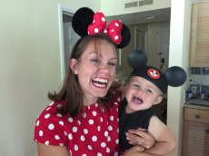 Adoptive Family Photo: We're So Excited for Disney World, click to view bigger version
