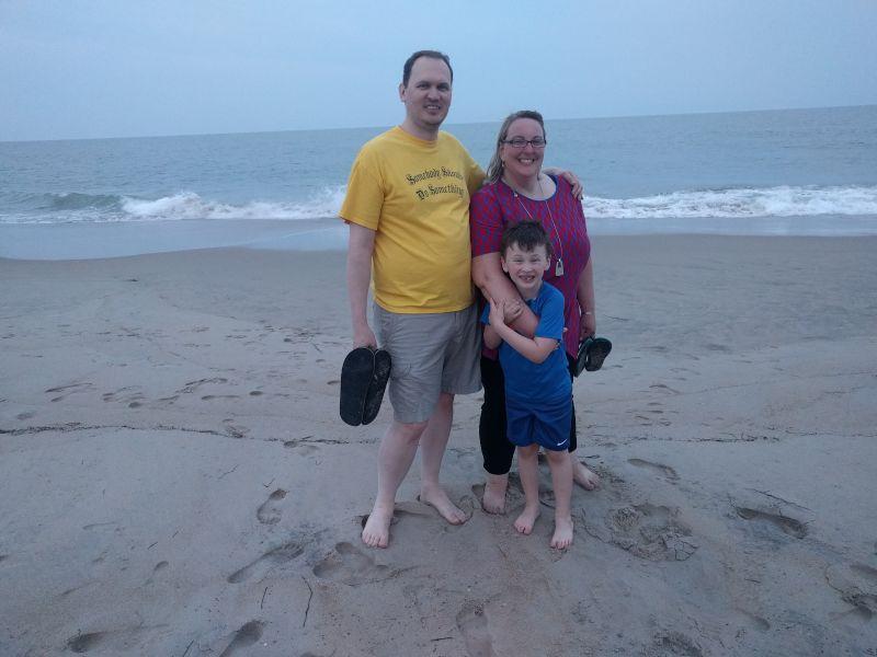 Enjoyiing the Beach in Ocean City