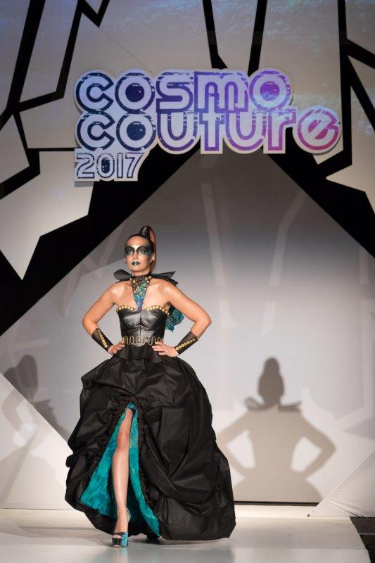 Shooka in a Charity Fashion Show