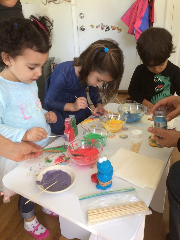 Cookie Decorating Play Date at Our House