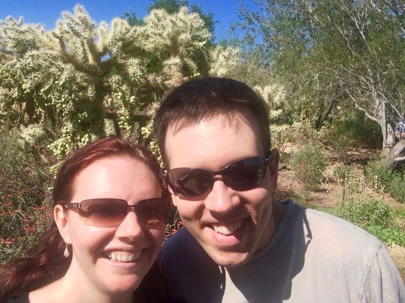 In Arizona on Vacation