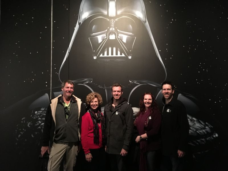Visiting the Star Wars Exhibit at the Denver Museum of Art