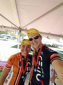 Exhausted After Riding 200 Miles for Bike MS
