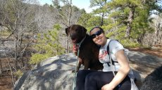 Adoptive Family Photo: Hiking With Roma, click to view bigger version