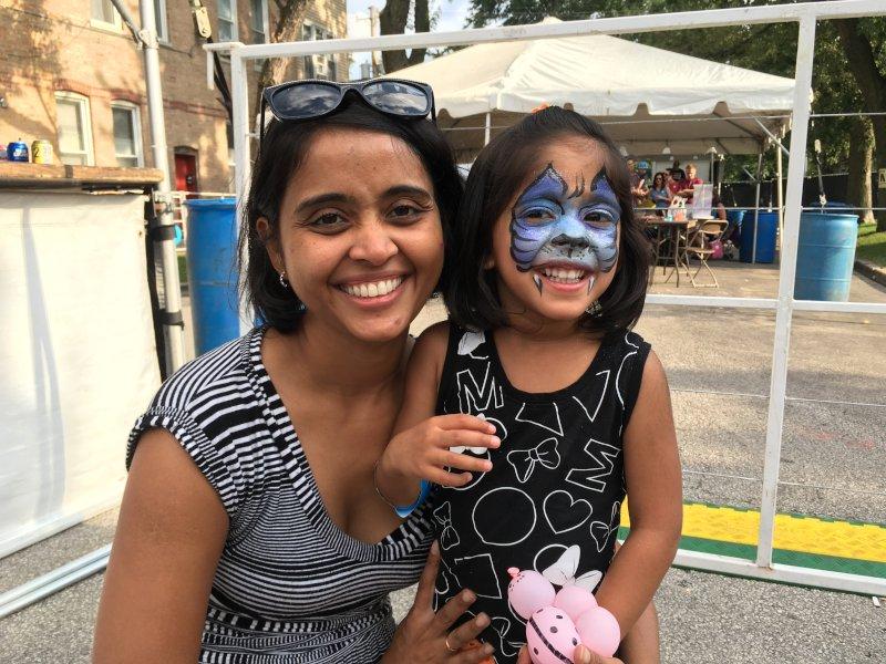 Fun at a Street Festival