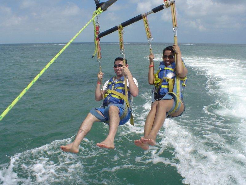 Parasailing in Florida