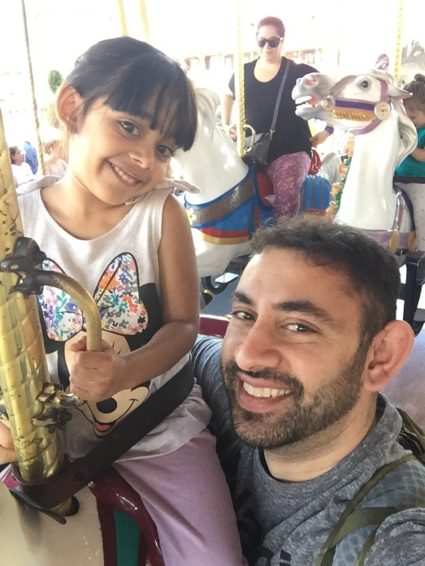 Disney World Carousel Ride