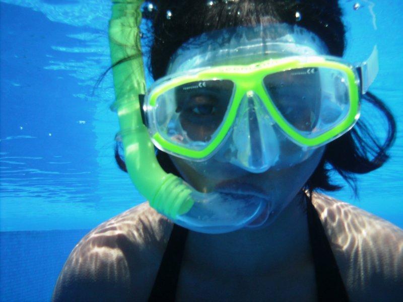 Priya Snorkeling