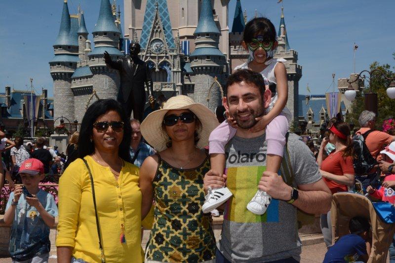Family Fun at Disney World