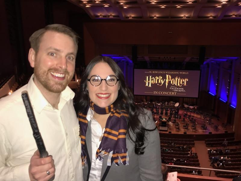 Excited for Harry Potter Symphony
