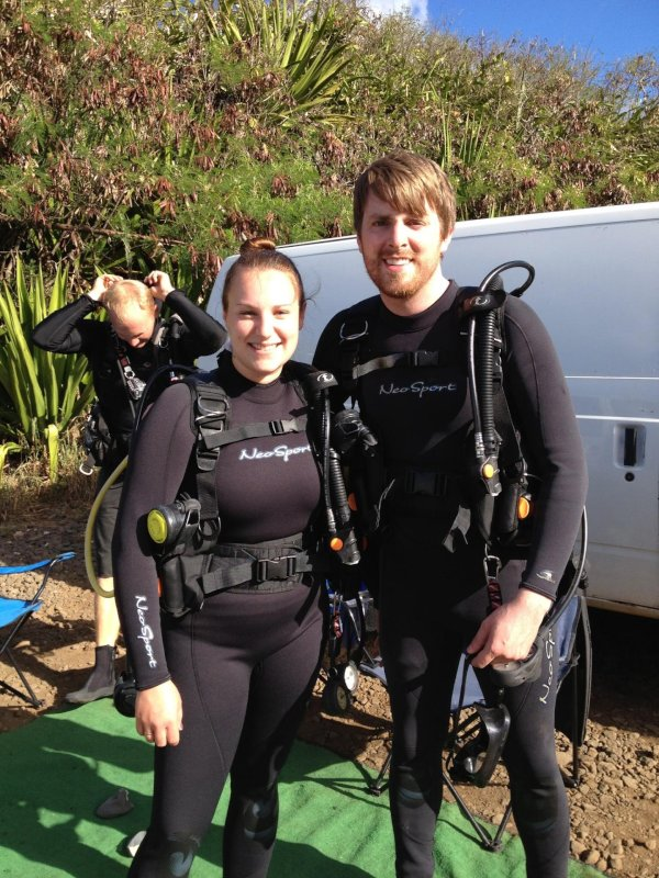 We Enjoy Scuba Diving on Vacation