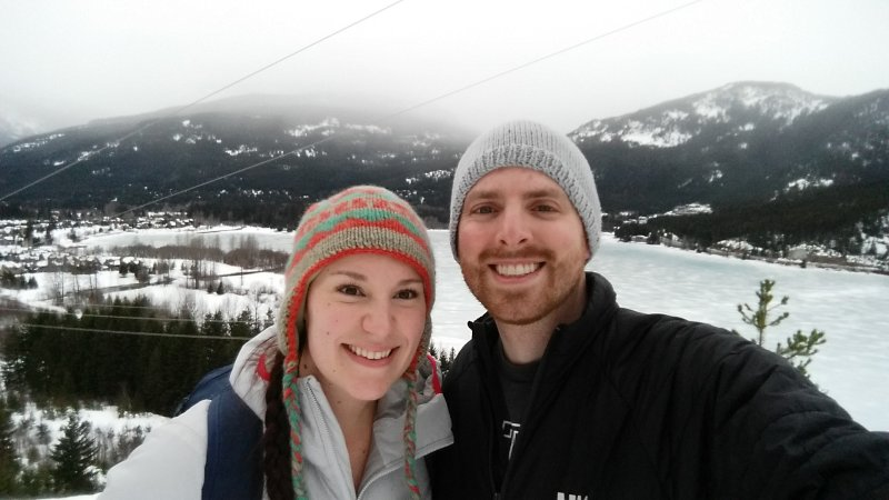 Snowshoeing in Whistler, Canada
