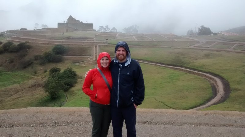Exploring Incan Ruins in Ecuador