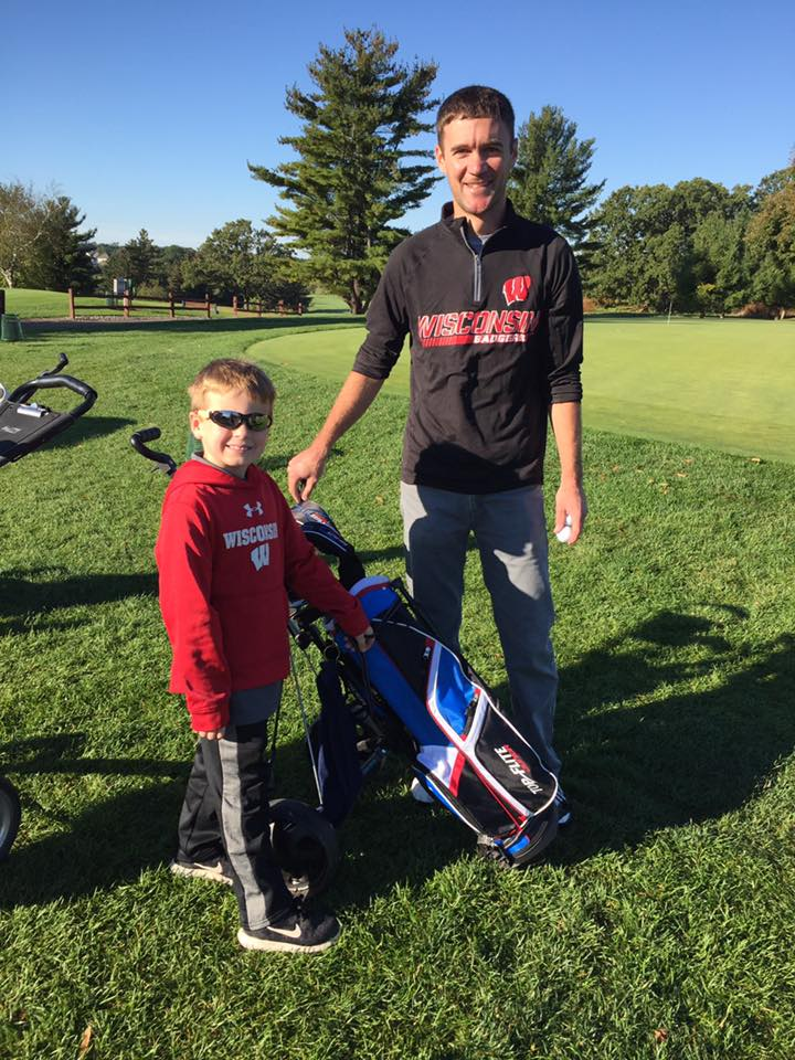 Golfing With Our Nephew