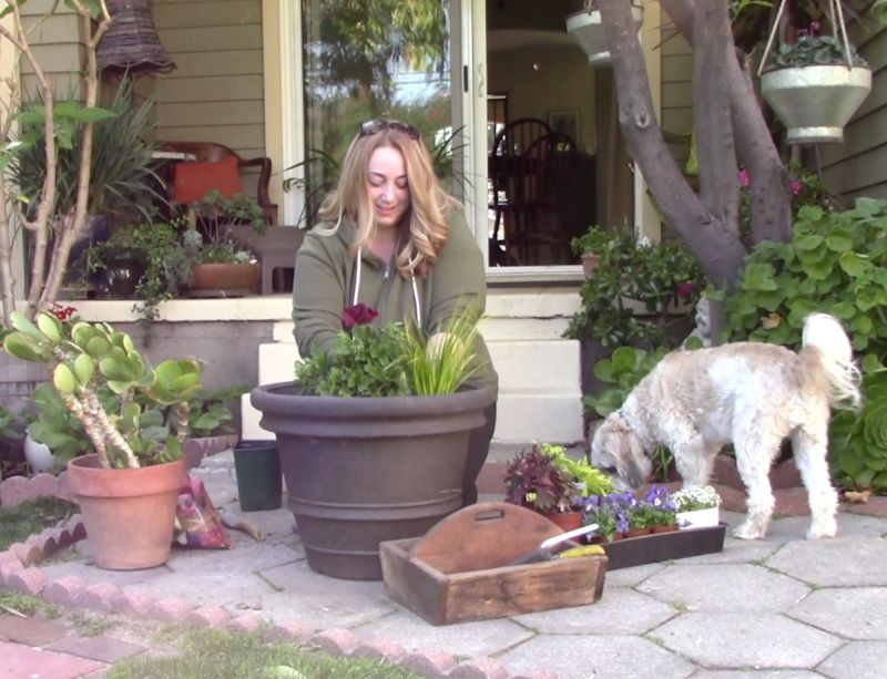 Marisa Gardening