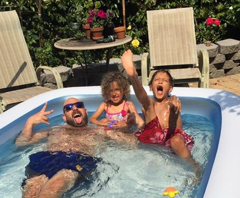 Playtime in the Pool