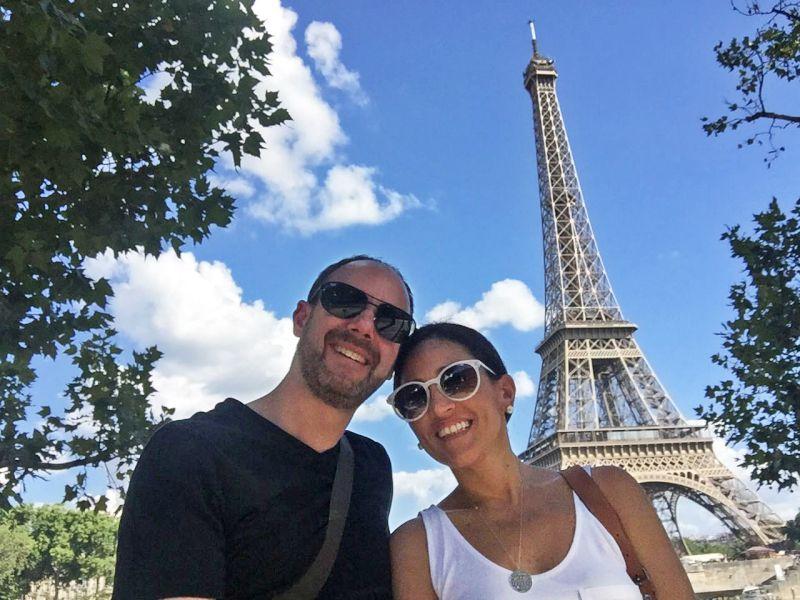 Celebrating Our Love in Paris
