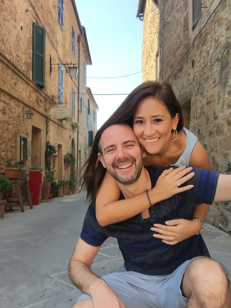 Selfie in Tuscany