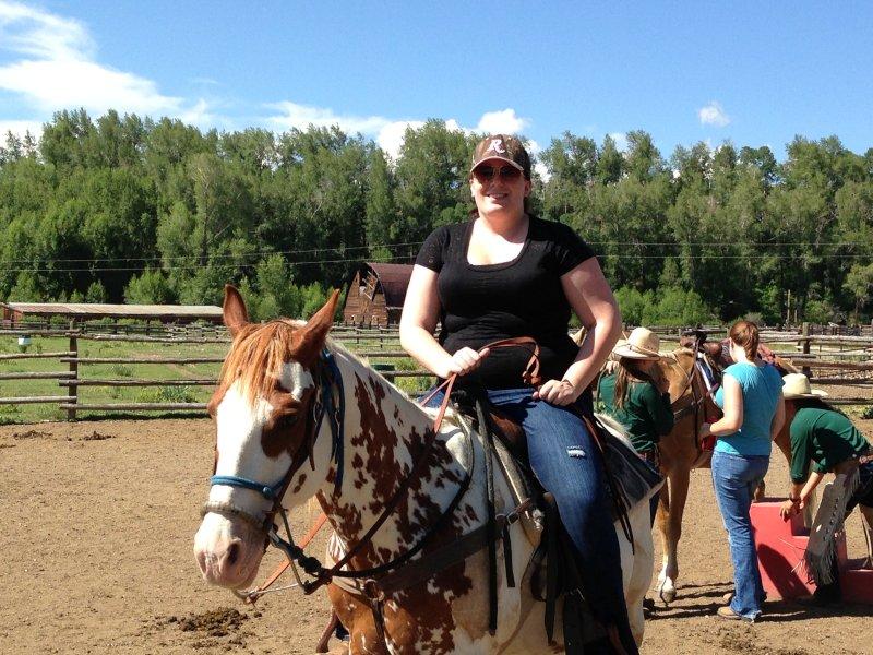 On Horseback in Colorado
