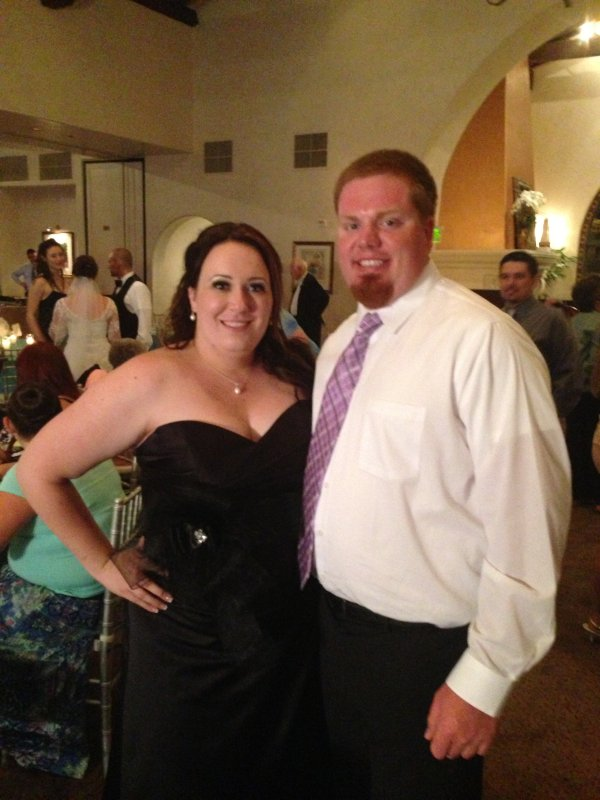At Lynn's Sister's Wedding