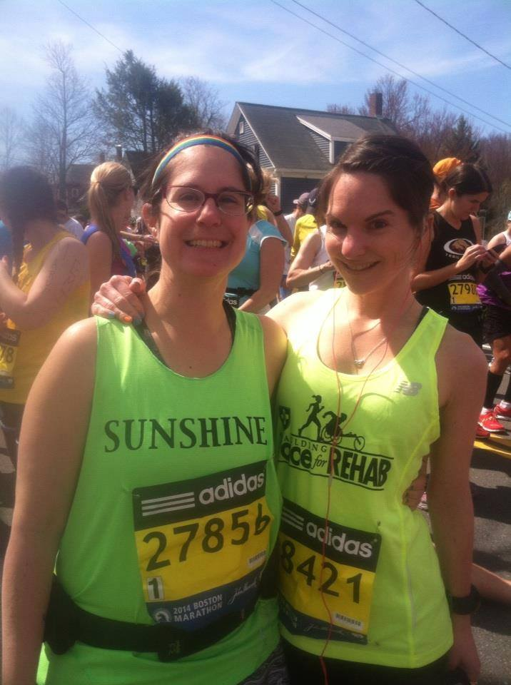 Running the Boston Marathon With My Sister