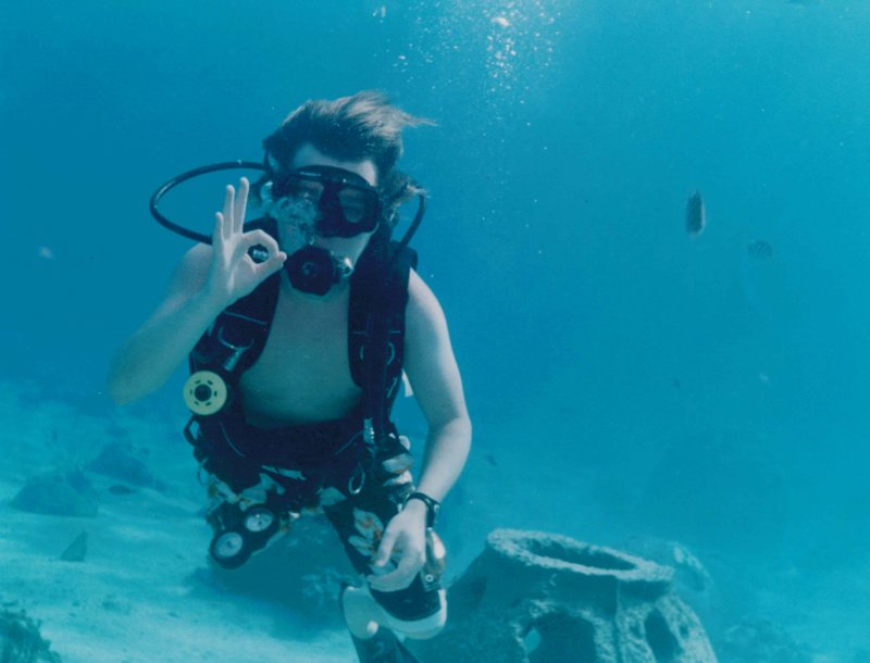 Sean Scuba Diving
