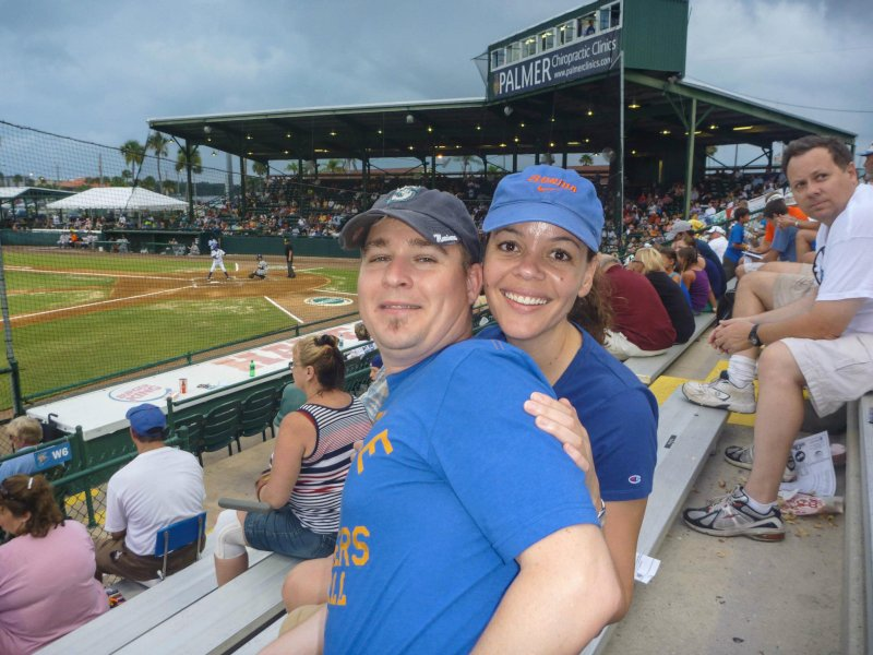We Love Baseball Games in the Summer!