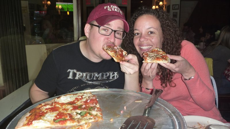 Pizza in NYC