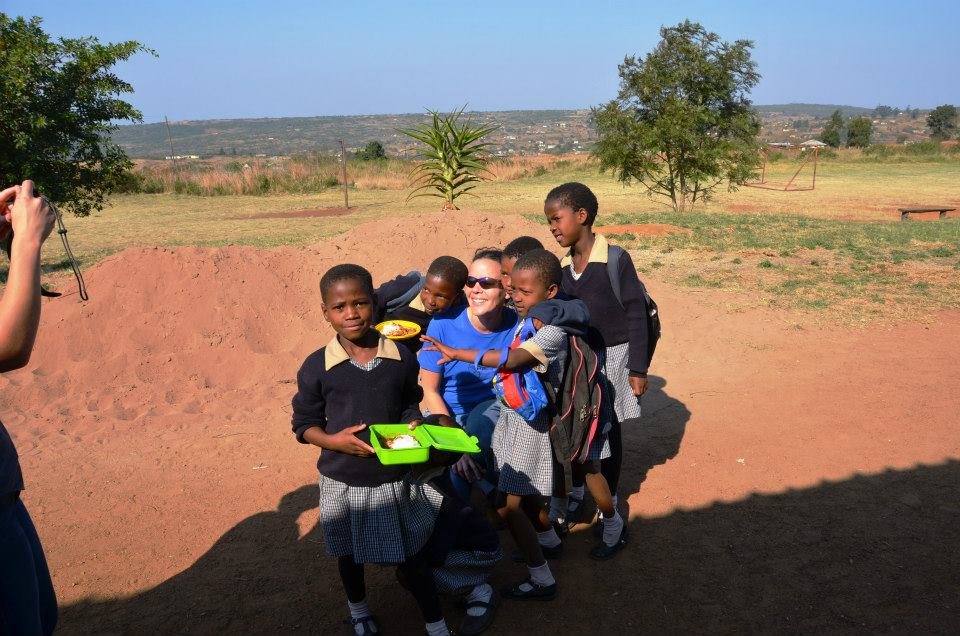 Eva on a Mission Trip in Swaziland