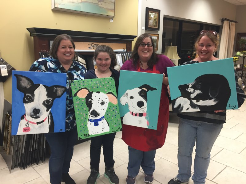 Paint Your Pet Charity Event