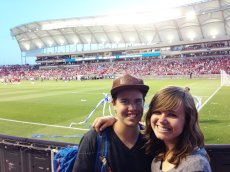 Adoptive Family Photo: Cheering On the U.S. Soccer Team