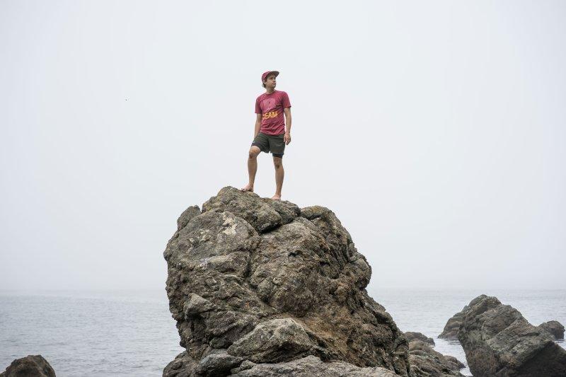 Alan Exploring the Rocks