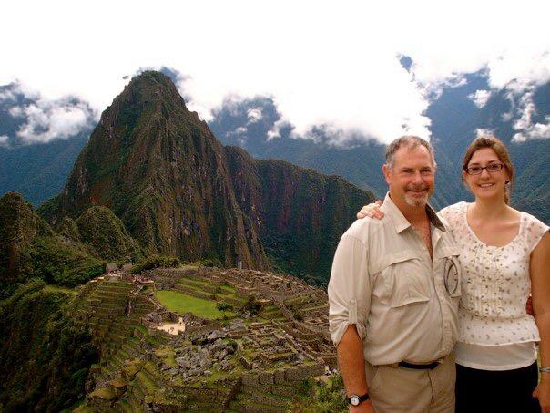 Katherine & Her Dad at Machu Picchu