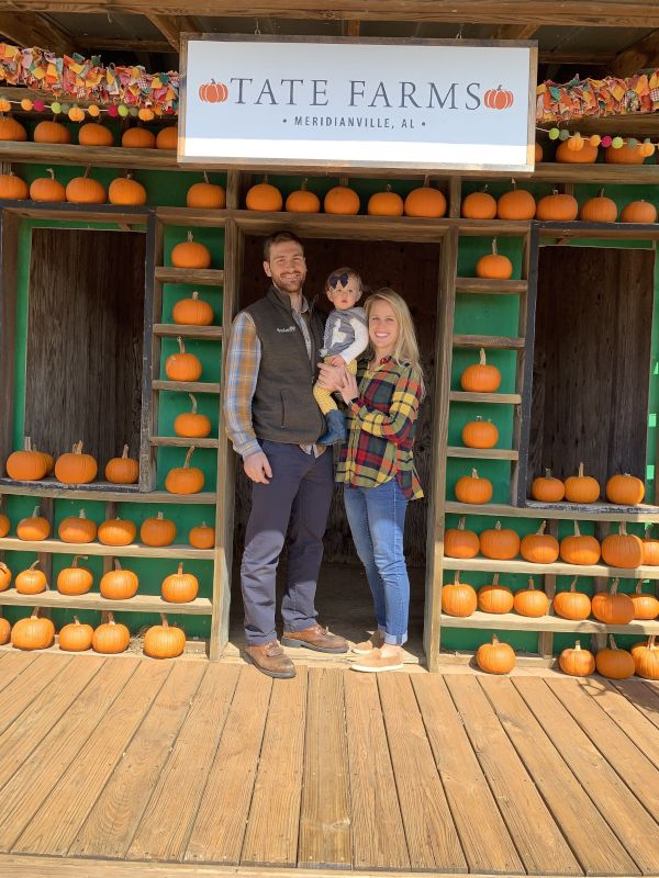 Family Trip to the Pumpkin Patch