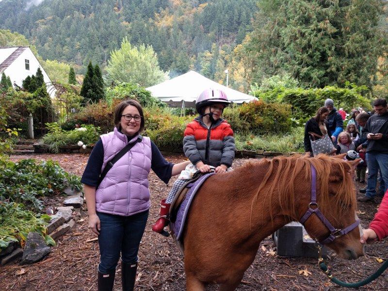 Happy Around Horses