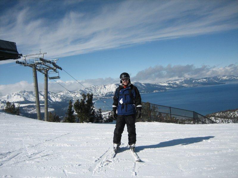 Brian Loves to Ski