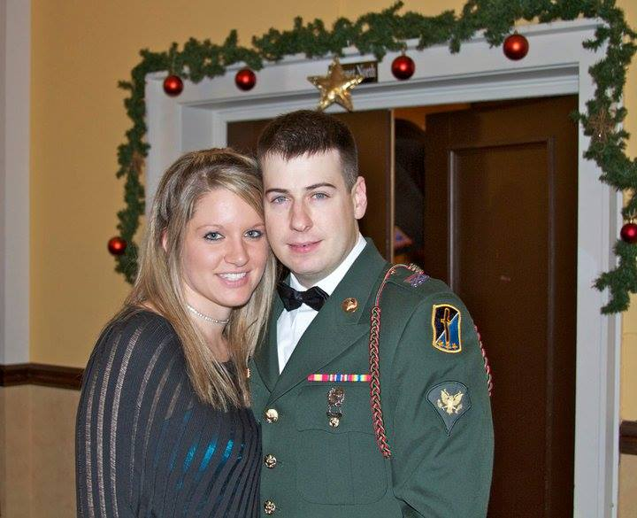 All Dressed Up for the Military Ball