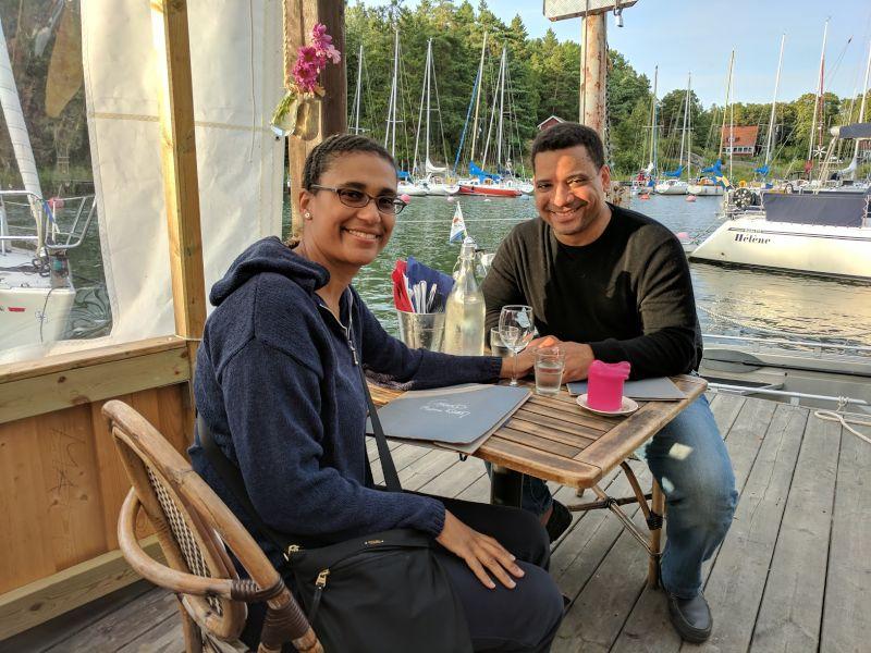 Dinner at the Marina