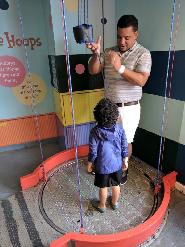 Fun With Our Nephew at the Children's Musuem