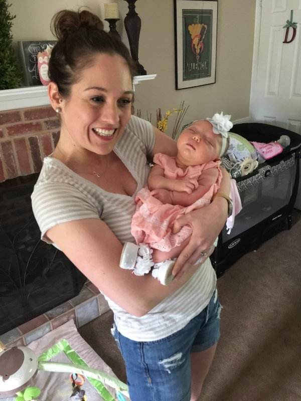 Shannen With Her Goddaughter