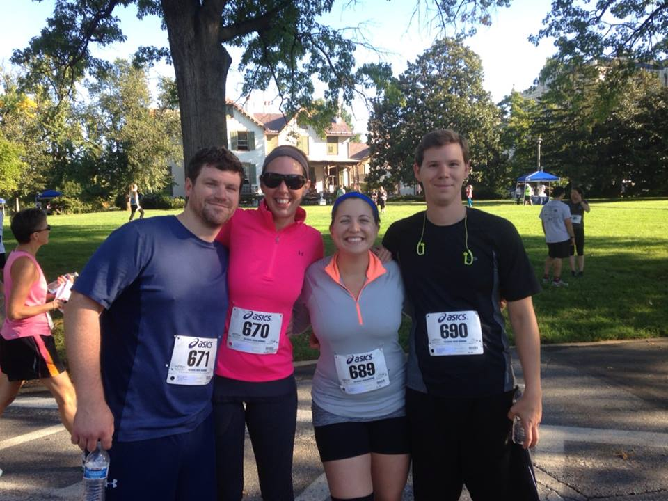 Running a 5K With Friends