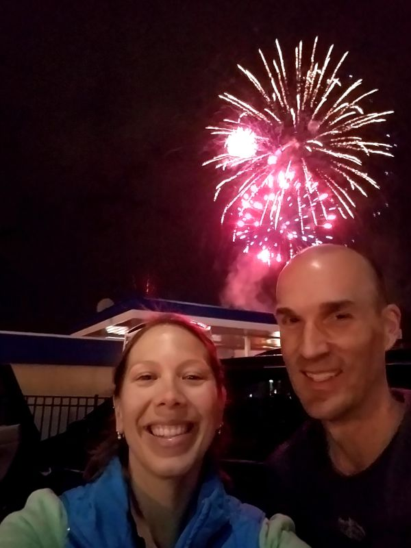 We Love Watching the Fireworks