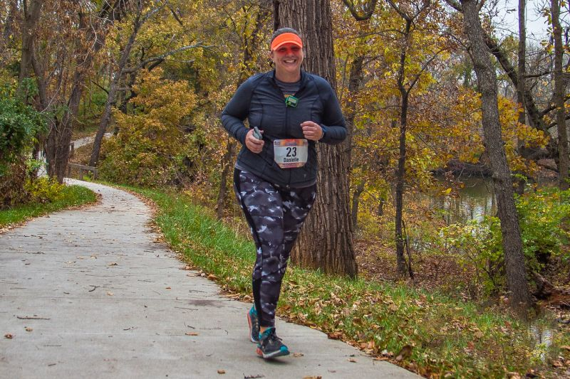 Running the Kansas Half Marathon