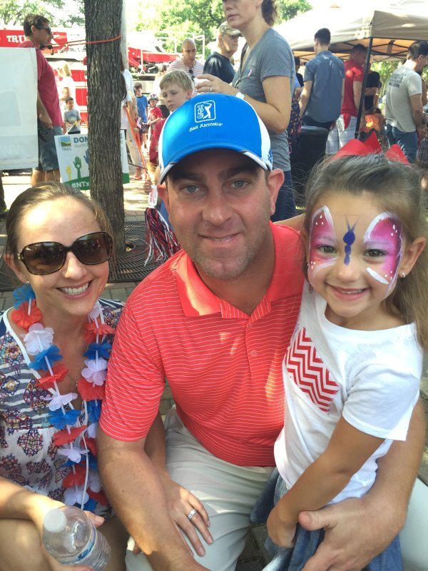 4th of July Parade with Our Niece